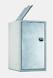 m lltonnenboxen aus beton edelstahl und holz zu g nstigen preisen im online shop. Black Bedroom Furniture Sets. Home Design Ideas